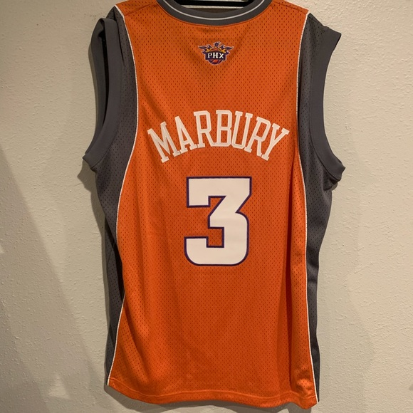 7594142184e Phoenix Suns Stephon Marbury XL Orange Jersey. M 5c6cd611baebf63b87cf461f